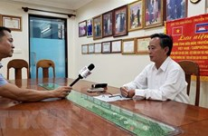 Vietnamese Cambodians actively cope with COVID-19 pandemic