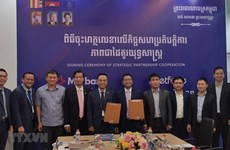 Metfone, MB Cambodia ink five-year cooperation deal