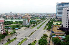 COVID-19: Hai Phong sprays disinfectant over entire city