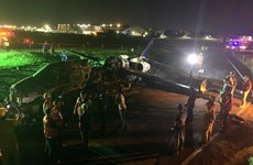 Medical plane crashes in Philippines, killing all eight people aboard