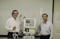 Japanese firm to make 15,000 ventilators to help Vietnam's COVID-19 response