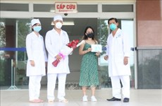 Four more COVID-19 patients fully recover