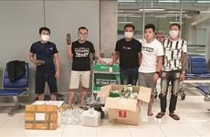 Vietnamese stuck at Thai airport get help