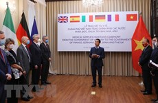 German, European media highlight Vietnam's support in COVID-19 fight