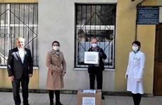 Vietnamese-owned company presents 600 COVID-19 test kits to Moldova