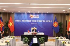 Int'l media highlight online Special ASEAN, ASEAN+3 Summits on COVID-19