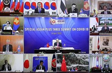 ASEAN+3 countries discuss specific measures against COVID-19