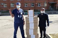Vietnamese communities in Russia, Czech Republic join local efforts against COVID-19