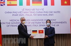 German foreign ministry appreciates Vietnam's support in COVID-19 fight