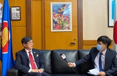 Japan underlines need for information sharing to fight COVID-19
