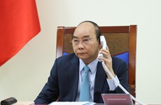Vietnamese, Swedish PMs hold phone talks over COVID-19, bilateral relations
