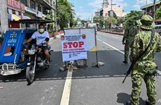 Philippine President eyes martial law-like COVID-19 crackdown