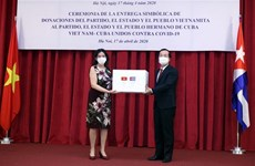 Vietnam helping Cuba's battle against COVID-19