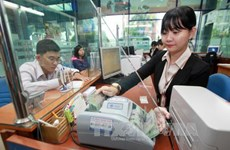 Reference exchange rate up 5 VND on April 17