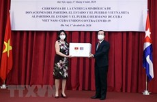 Vietnam, Cuba closely cooperating against COVID-19