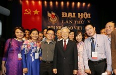 Top leader sends greetings to Vietnam Journalists' Association on 70th anniversary