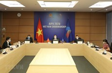 Vietnam attends teleconference on parliamentary role in fighting COVID-19