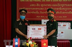 Medical supplies to northern Lao provinces