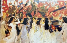 Exhibition showcasing reunification art available to view online