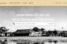 Website promoting relic sites comes online