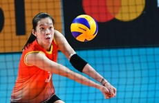 Vietnamese volleyball star gets offer to renew deal with Japanese club