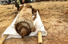 100kg bomb deactivated in Dien Bien
