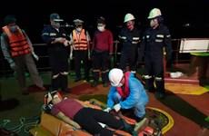 Vietnamese rescuers save unconscious Filipino sailor off coast