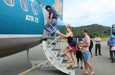 Eased social distancing helps resume air services to southern island