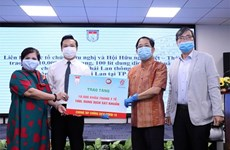 10,000 face masks donated to Thai Consulate General in HCM City