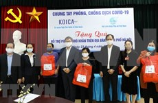 KOICA supports Hanoi women in need during pandemic