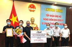 Thai firm donates 1 billion VND for Ben Tre to fight COVID-19