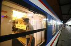 Local trains resume operation after social distancing eased