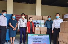 COVID-19: Vietnamese giant HAGL donates medical supplies to Cambodia