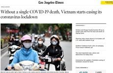 Foreign media praise Vietnam's achievements in COVID-19 fight