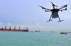Singapore's first drone delivery service takes flight