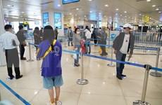 Air passengers at record low in April