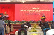 National Reunification Day observed in HCM City