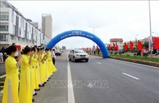 Hai Phong: urban arterial road open to traffic