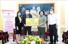 Over 153 billion VND mobilised in HCM City to support COVID-19 fight