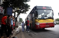 Hanoi, HCM City resume bus services
