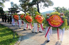 Remains of soldiers found in Laos reburied in Thua Thien-Hue