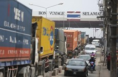 Thailand's cross-border trade down 7.6 percent in Q1
