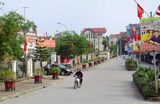 Hanoi targets 10 new-style rural districts in 2020