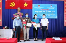 "HCM City friendship union installs ""rice ATM"" in Binh Tan"