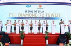Work on construction of FLC 72-storey tower starts in Hai Phong