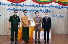 Vietnamese supports Myanmar region in COVID-19 battle