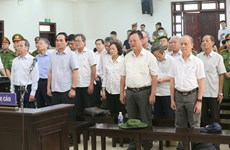 Appeal court announces verdict for case involving ex-leaders of Da Nang