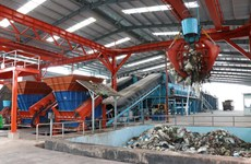 Country's largest waste-to-fertiliser plant commissioned in Binh Duong