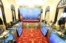 ASEAN senior defence officials discuss cooperation in online meeting