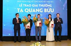 Three scientists receive Ta Quang Buu Awards 2020